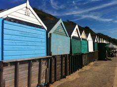 Beach huts - Bournemouth UK