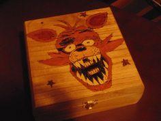 Five Nights at Freddy's OOAK Keepsake box Chest Freddy Fazbear Chica Foxy Bonnie