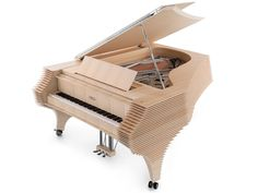 The Kengo Kuma Fazioli grand piano is a magnificent new instrument designed by the renowned Japanese firm of architects whose name it bears. Hinoki Wood, Kengo Kuma, Grand Piano, Property Development, Piano Music, Music Love, Classical Music, New Product, Acoustic