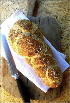 mákos, lenmagos, szezámmagos,kenyér Bread Baking, Banana Bread, Bakery, Lime, Cooking, Desserts, Recipes, Food, Nature