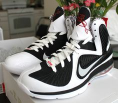 NIKE LeBron 9 x Freegums sz 10 Black White Elite Limited Edition X NEW #Sneakers