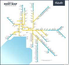 Rent By Train Station Maps For Sydney, Brisbane And Melbourne From Share Accommodation Site Flatmates