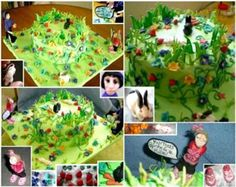 garden cake - Google Search