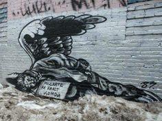 Street Art Banksy Russian Pacha183