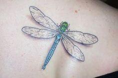 3D Dragonfly Tattoo (2) - Mociarane.com