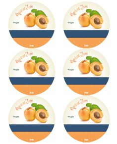 Beautiful canning jar labels to download & print