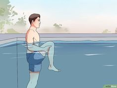 How to Use Water Exercises for Back Pain. Regular exercise can help treat back pain, though people who suffer from back pain should choose low-impact exercises that don't increase stress on the spinal vertebrae or other joints. Water is a. Knee Exercises, Back Pain Exercises, Stretching Exercises, Swimming Exercises, Sciatica Stretches, Sciatica Pain, Scoliosis, Bursitis Hip, Pool Workout