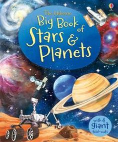 Big Book of Stars & Planets (Usborne Big Books): Open the giant fold-out pages to discover the wonders of space from our Sun and the planets in our Solar System, to massive stars, enormous galaxies and lots, lots more. Planets Preschool, Preschool Activities, Preschool Curriculum, Preschool Learning, Kindergarten, Teaching, Constellations, Space Books For Kids, Space Kids