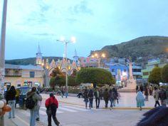 Plaza de Puno - Peru