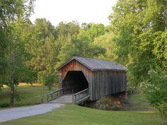 Covered Bridges in North Georgia