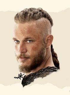Ragnar - Vikings by Ajanee12.deviantart.com on @deviantART