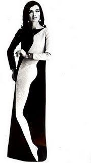 YVES SAINT LAURENT haute couture 1967