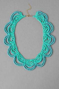 Beautiful bead necklace from francesca's