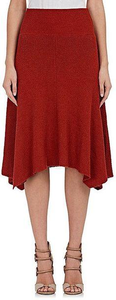 Ulla Johnson Women's Alessia Knit Baby-Alpaca-Silk Skirt