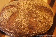 The sponge used in this Semolina Durum Bread gives it a lightness and a unique flavor. It has a nutty and crispy crust with a chewy interior. Bread Maker Recipes, Flour Recipes, Yeast Bread, Bread Baking, Types Of Bread, Flatbread Recipes, Artisan Bread, Daily Bread, Different Recipes
