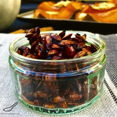 Chili Roasted Pumpkin Seeds are one of the many ways to eat pumpkin ...