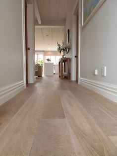 A white tone gives this floor a Nordic vibe (reference Rain Dance, Dancing In The Rain, Engineered Timber Flooring, Click Flooring, Sawn Timber, Bleached Wood, French Oak, Photo On Wood, Cool Walls
