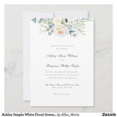 Minimalist Invitation, Minimalist Wedding Invitations, Boho Wedding, Summer Wedding, Simple Line Drawings, You Are Invited, Simple Lines, Watercolor Flowers, Special Day