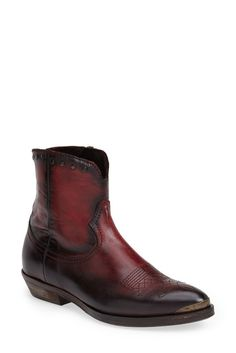 Low Shaft Leather Boot (Women) 6d84bcda368