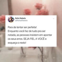 Portuguese Phrases, Good Vibes, Girl Power, Self Love, Reflection, Wallpapers, Indian, Feelings, Happy