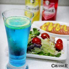 #크루저 #cruiser #color #wine #sparkling #alcohol #와인 #컬러 #cocktail #칵테일 #스파클링 #blueberry #lemon ##salad
