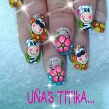 Resultado de imagen para catalogo de decoracion de uñas masglo gratis Spring Nails, Toe Nails, Hair And Nails, Manicure, Wax, Nail Designs, Projects To Try, Lily, Nail Art
