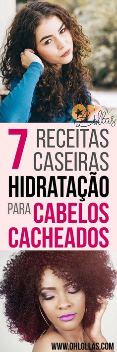 7 RECEITAS CASEIRAS DE HIDRATAÇÃO PARA CABELOS CACHEADOS - Hidratação para cabelos crespos, ondulados e cacheados naturais. Hidratação com mel, babosa, maizena, rícino, óleo de coco, glicerina e muito mais ingredientes baratos e excelentes para tratar os fios. Transição capilar, cronograma capilar caseiro, projeto rapunzel. @ohlollas www.ohlollas.com #cabelo #cabelos #cabelocacheado #cabeloscacheados #hidratação #hidrataçãocaseira