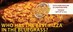 4th Annual Bluegrass Pizza Bake-off- RESULTS