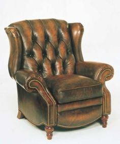 a well loved arm chair=necessity