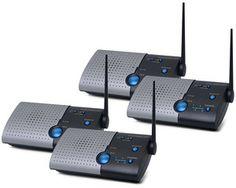 BUNDLE5 - Chamberlain Wireless Intercom Kit of 4