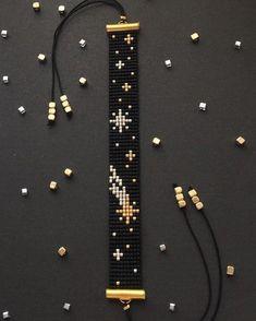 off loom beading stitches Loom Bracelet Patterns, Bead Loom Bracelets, Bead Loom Patterns, Beaded Jewelry Patterns, Silver Bracelets, Jewelry Bracelets, Embroidery Bracelets, Silver Ring, Bead Jewellery