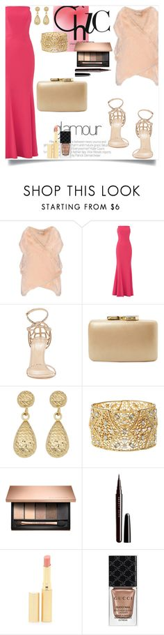 """Sem título #434"" by caroolnunees ❤ liked on Polyvore featuring STELLA McCARTNEY, Jill by Jill Stuart, Sergio Rossi, Kayu, Fremada, Charlotte Russe, Marc Jacobs, Jane Iredale and Gucci"