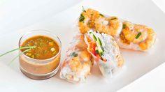 Thai Shrimp Spring Rolls - Video Recipe