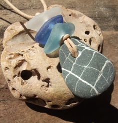 Unisex Scottish Sea Glass & Pebble Surfer by byNaturesDesign, $10.00