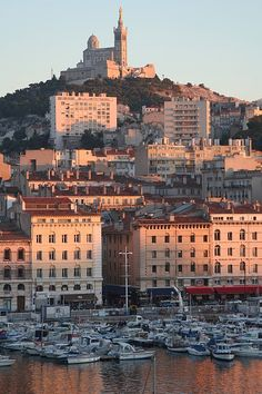 Marseille, France--THIS is where I want to go this summer! Such a beautiful place!