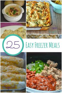 One of the things that I need to make simple is cooking! I love these 25 easy freezer meals they are great to make for families in need and take over to help end hunger! That's why I made them for our Ronald McDonald charity trip to help @Unilever #shareameal #sp http://quirkyinspired.com/easy-freezer-meals/