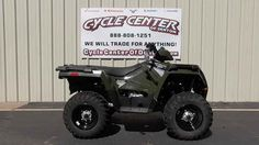 New 2016 Polaris Sportsman 450 H.O. EPS Sage Green ATVs For Sale in Texas.