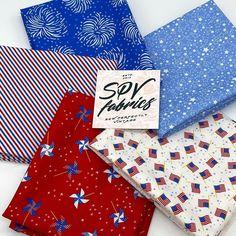 "SPV Fabrics on Instagram: ""💥Holiday Essentials Americana 5 Piece Fat Quarter Bundles by @stacyiesthsu for @modafabrics We also have yardage and Layer Cakes available…"" Holiday Essentials, Layer Cakes, Fat Quarters, Layers, Fabrics, Gift Wrapping, Cards, Gifts, Instagram"