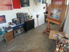 Studio space Corner Desk, Space, Studio, Furniture, Home Decor, Floor Space, Homemade Home Decor, Corner Table, Studios
