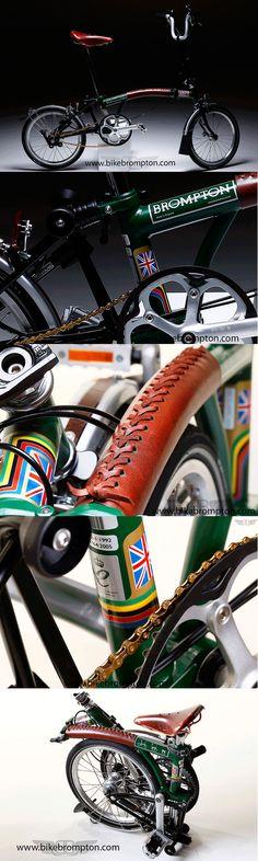 ACCESSORIES FOR BROMPTON. Bikebrompton Leather Case. Bikebrompton Stickers. Bikebrompton Mudguards.