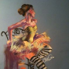 My friend Chaminda Mapa drew this with pastels. He's amazing.