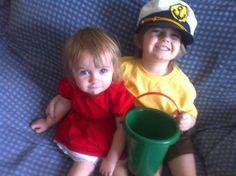 Kids ponyo costumes!