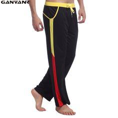 GANYANR Brand Fitness Legging Sport Leggings Men Running Wear Running Pants Gym Sweatpants Long Joggers Elastic Waist Trousers