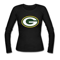 Custom Women Green Bay Packer Team Logo Long Sleeve Tees Shirt Large Black Lovely Shop http://www.amazon.com/dp/B012RDU4XA/ref=cm_sw_r_pi_dp_IrGfwb070W95X