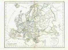 Europe divisée en ses différents ´États
