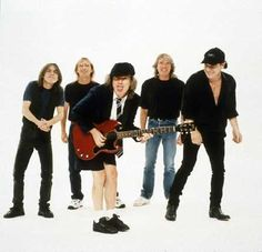 "AC/DC...I went to a show in 1986 during the ""Who Made Who"" North American tour...they SO rocked...."