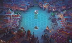 Art Of Faeria Part 2 on Behance Behance, Game Design, Digital Art, In This Moment, Illustration, Painting, Video Games, Videogames, Illustrations