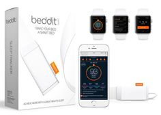 Beddit Sleep Tracker Launches New Apple Watch App - The Beddit Sleep Tracker from Misfit is now capable of connecting to your Apple Watch using the new app, as it charges on your bedside, allowing you to exactly see how well you slept during the previous nights. | Geeky Gadgets