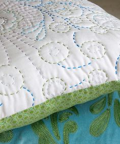 how to hand quilt with perle cotton | Hand quilting | Pinterest ... : hand quilted quilts - Adamdwight.com