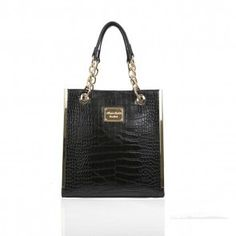 ANNA SMITH TRIMMED TOTE